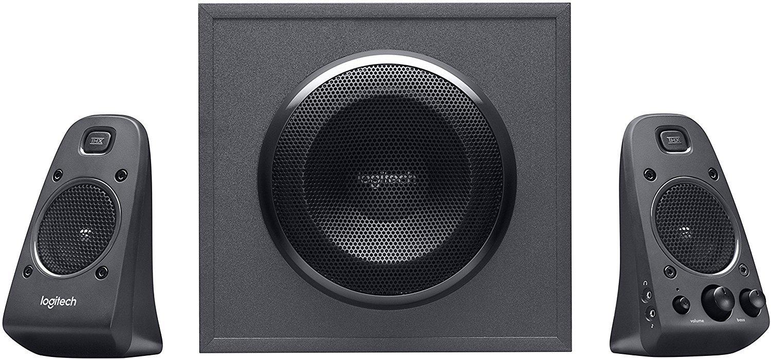 Logitech Z625 - Powerful THX Sound 2.1 Speaker System for TVs, Game Consoles & Computers (Certified Refurbished) by Logitech