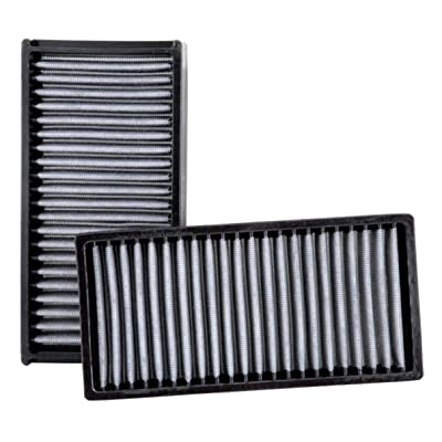 K&N Premium Cabin Air Filter: High Performance, Washable, Lasts for the Life of your Vehicle: Designed for Select 1997-2011 HONDA/ACURA (Civic LX,HX,GX,DX,Si, Element, RSX, EL), VF2022: Automotive