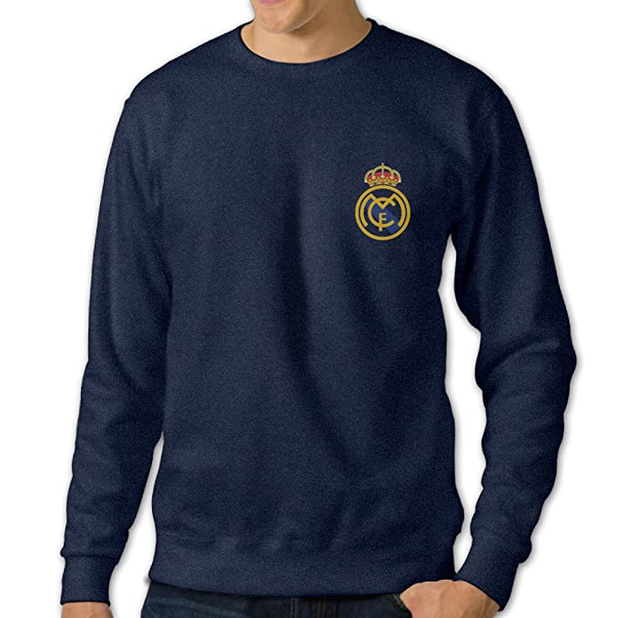 Amazon.com: Real Madrid Mens O-Neck sudadera con capucha ...