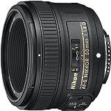 Nikon 50mm f/1.8G Auto Focus-S NIKKOR FX Lens -...