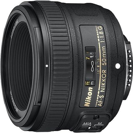 Nikon 50mm f/1 8G Auto Focus-S NIKKOR FX Lens - (Renewed)