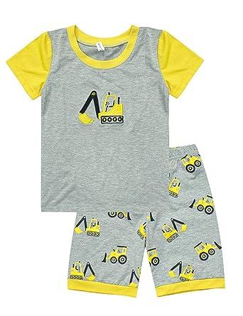 bbfef7cc4 Little Hand Kids Pyjamas For Boys Pajama Set Summer Boys Shorts ...