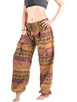 Winter Harem Pants by Forgotten Tribes® - Warm & Soft Wool - Many Designs - Ethnic Woolen Trousers - High Crotch