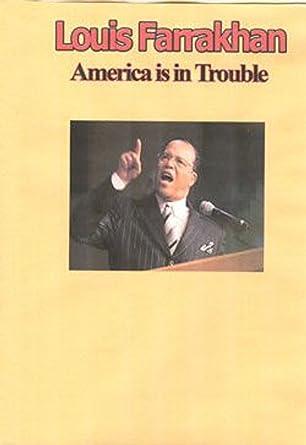 Amazon com: Louis Farrakhan - America is in Trouble: Louis