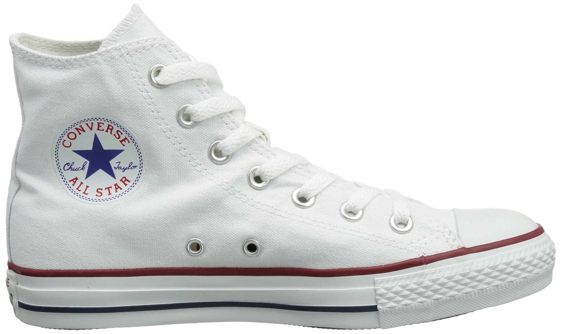 Converse Clothing & Apparel Chuck Taylor All Star High Top Sneaker, Optical White, 9.5 M US