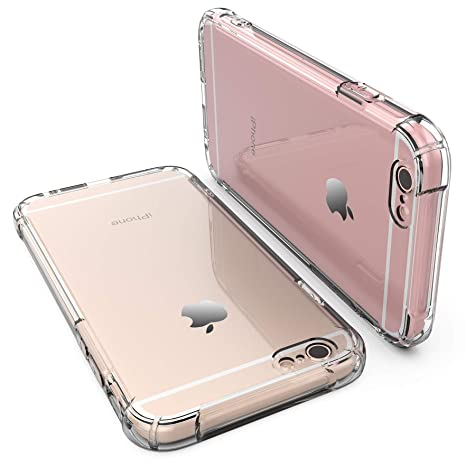 Amazon.com: Carcasa para iPhone 6, iPhone 6S, RORSOU 3 en 1 ...