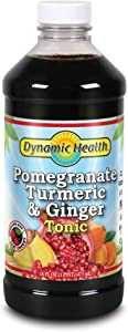 Dynamic Health Pomegranate Turmeric and Ginger Tonic Supplement, 16 Ounce