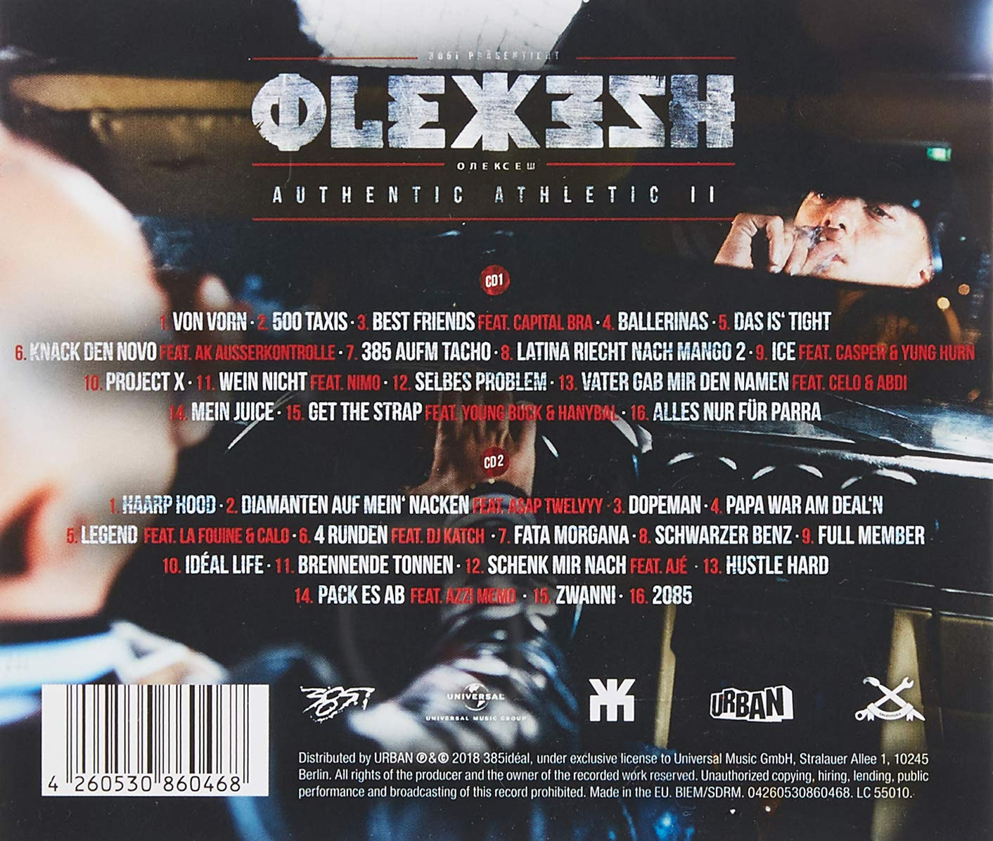 f4746b0ac5b Authentic Athletic 2 (Ltd.Deluxe Box) - Olexesh  Amazon.de  Musik