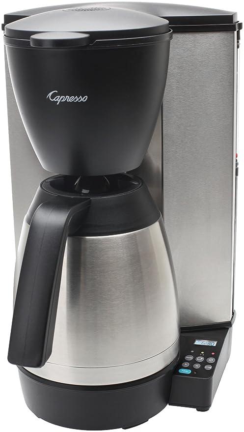 Capresso Jura MT600 Plus 10 taza cafetera eléctrica con ...