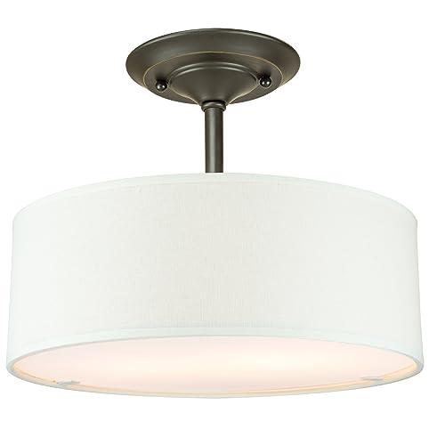 Revel addison 13 2 light semi flush mount ceiling light fixture w revel addison 13quot 2 light semi flush mount ceiling light fixture w aloadofball Images
