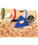 loveone(TM) Seesaw Tunnel Small Animal Playground Toy for Mice/ Dwarf Hamster/ Gerbils/ Mouse/ Small Pet
