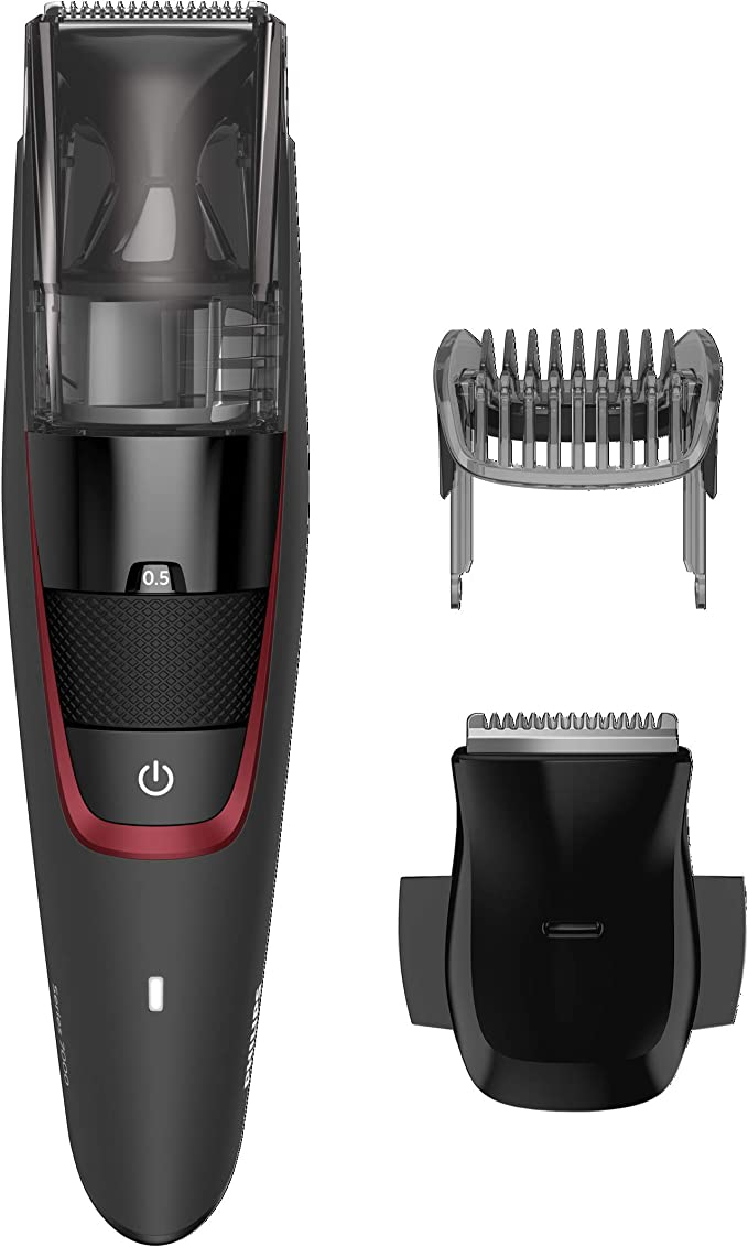 Philips BT7 BEARDTRIMMER Series 7000 Barbero con Sistema de ...