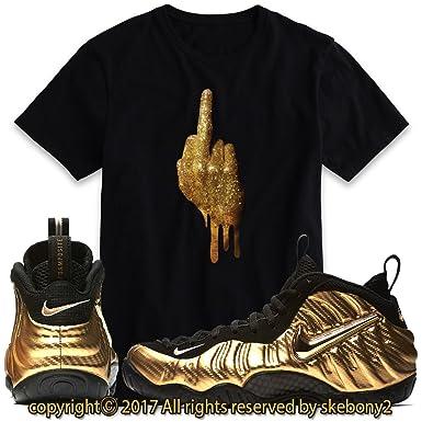 78bbfd3da8c shirts match fomaposite metallic gold foam sneaker tees