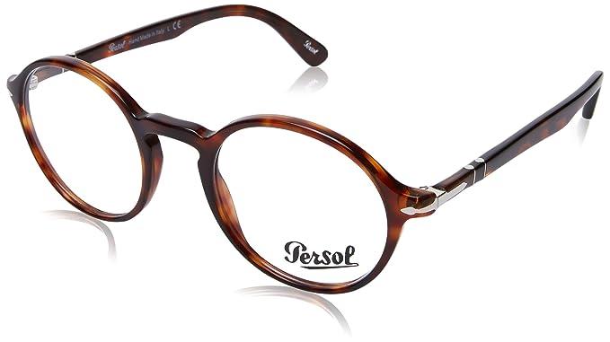 Persol 0PO3141V, Monturas de Gafas para Hombre, Marrón (Havana), 48