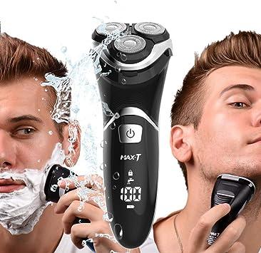 Maxx - Afeitadora eléctrica para hombre en húmedo y seco, 3D ...