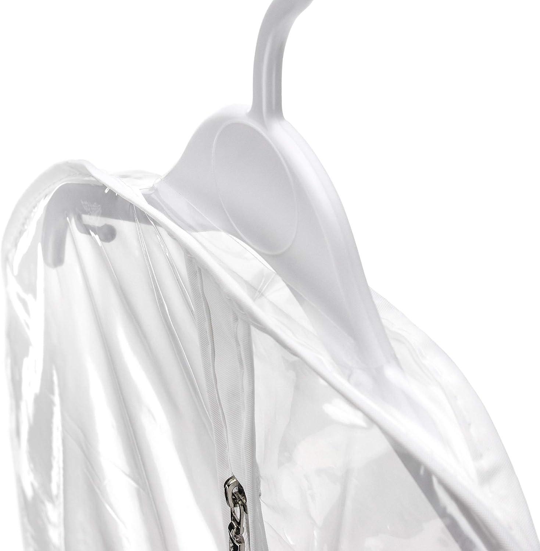 Hangerworld Wasserabweisender Kleidersack 76cm Transparent Kleiderh/ülle Baby und Kinderkleidung