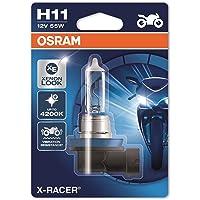 Osram 64211XR-01B X-RACER H11 Halogeen Motorfiets-koplamp, enkele blister (1 stuk)