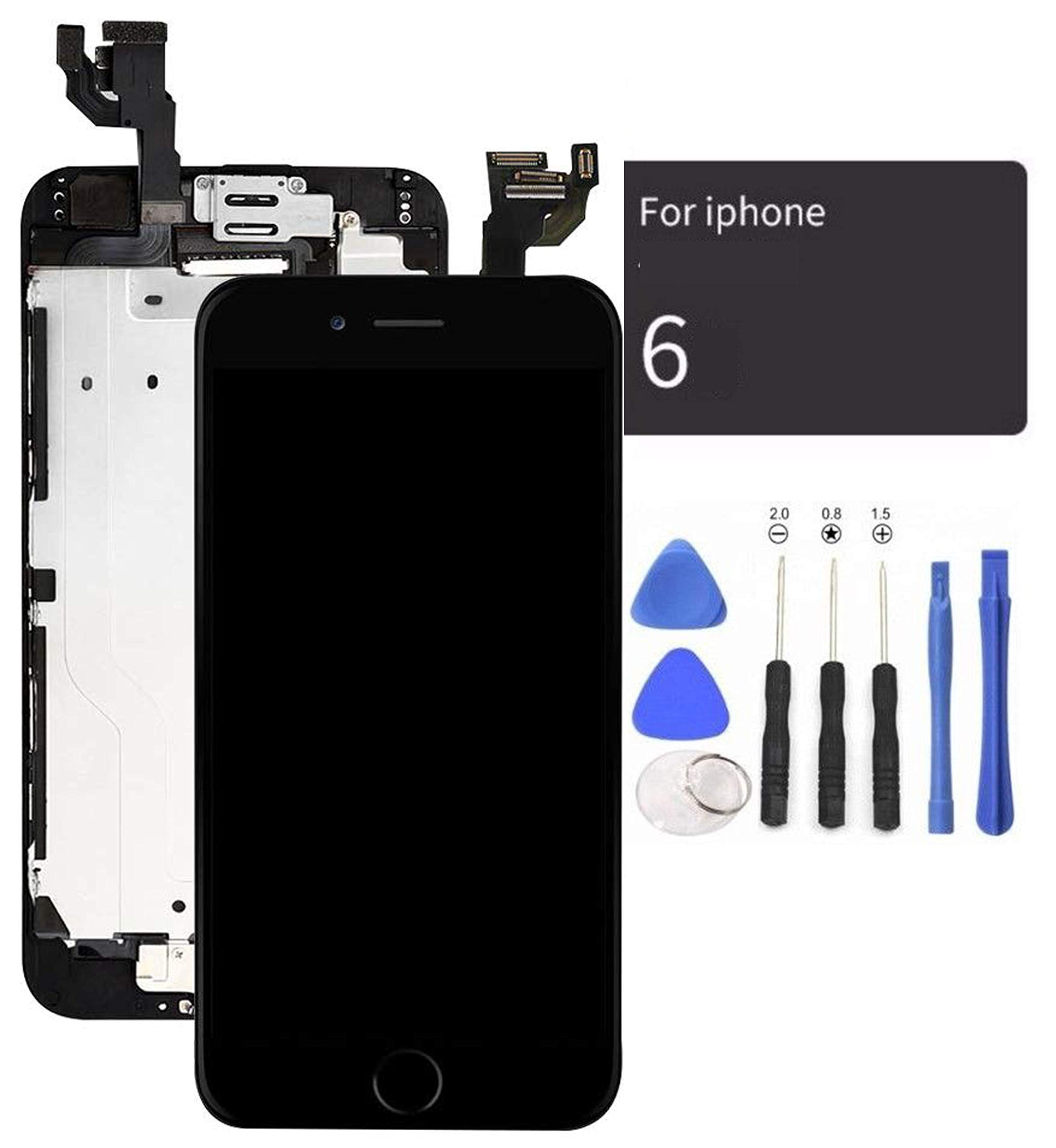 Modulo LCD Negro para IPhone 6 4.7 Inch  -250