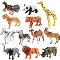 luminiu Dierfiguren, dierspeelgoed, jungle dier speelgoed set, dier speelgoed speelgoed dierspellen dierentuin figuren…