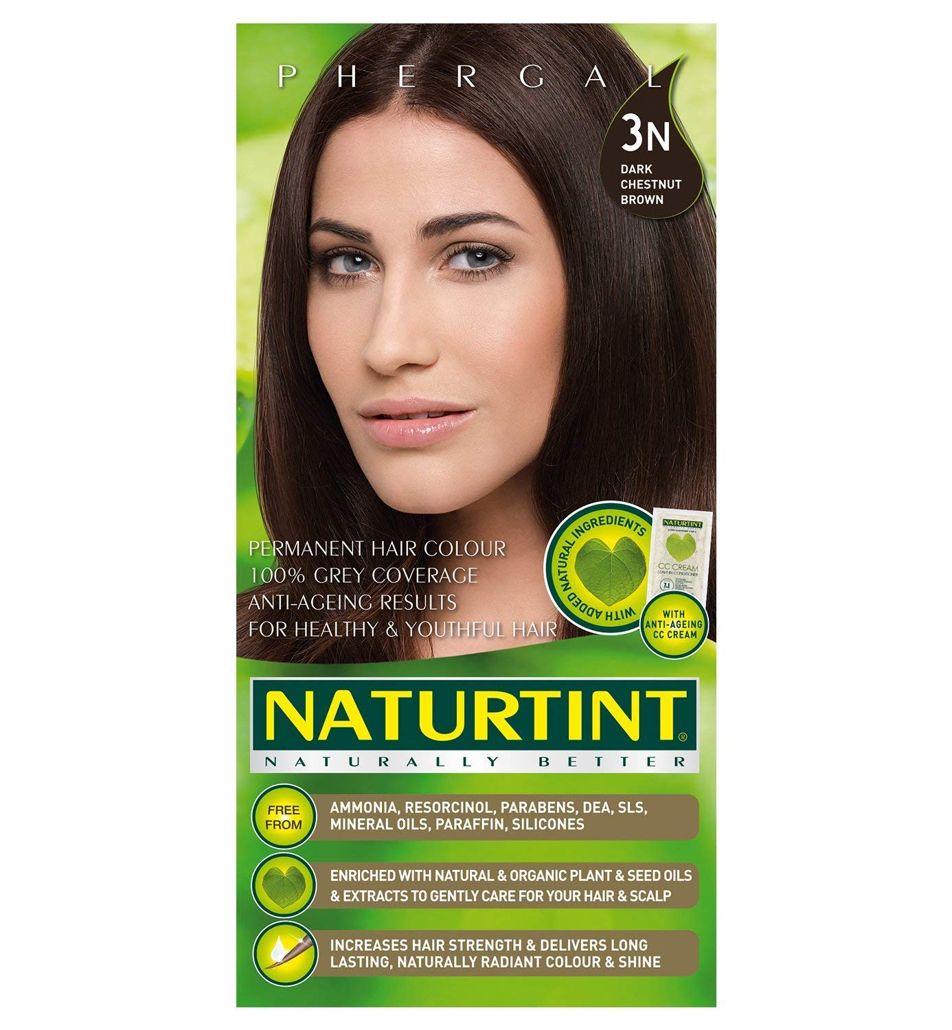 Naturtint HairColor 3N Dark Chestnut Brown 1 Pack