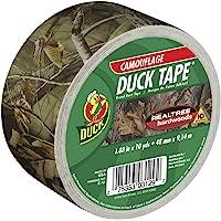 Duck Brand 283960 Cinta para ductos, diseño de encaje, Rollo individual, Camuflaje Realtree