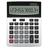 Amazon Price History for:Calculator, Helect Business Standard Function Desktop Calculator - Silver