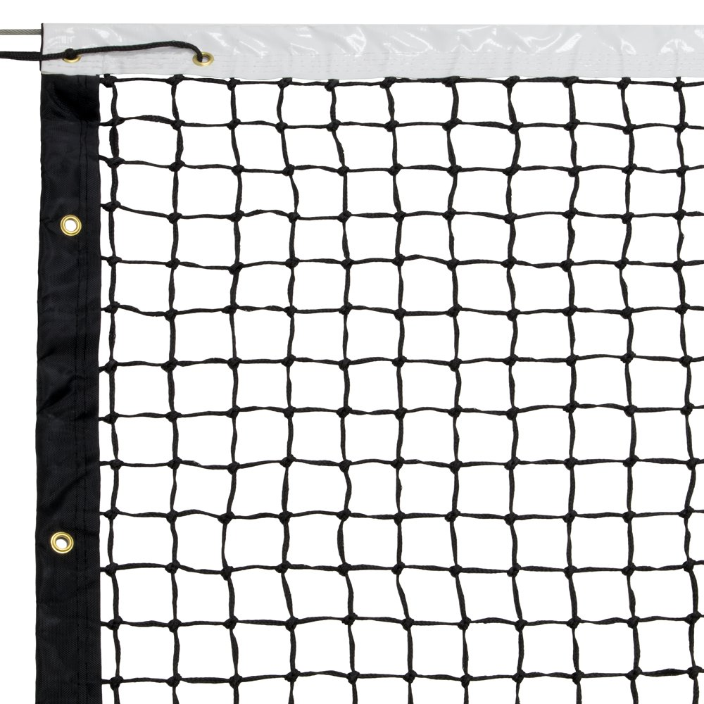 Deluxe 42 Ft Tennis Net & Cable - Includes Bonus Carry Bag! by CSG (Image #1)