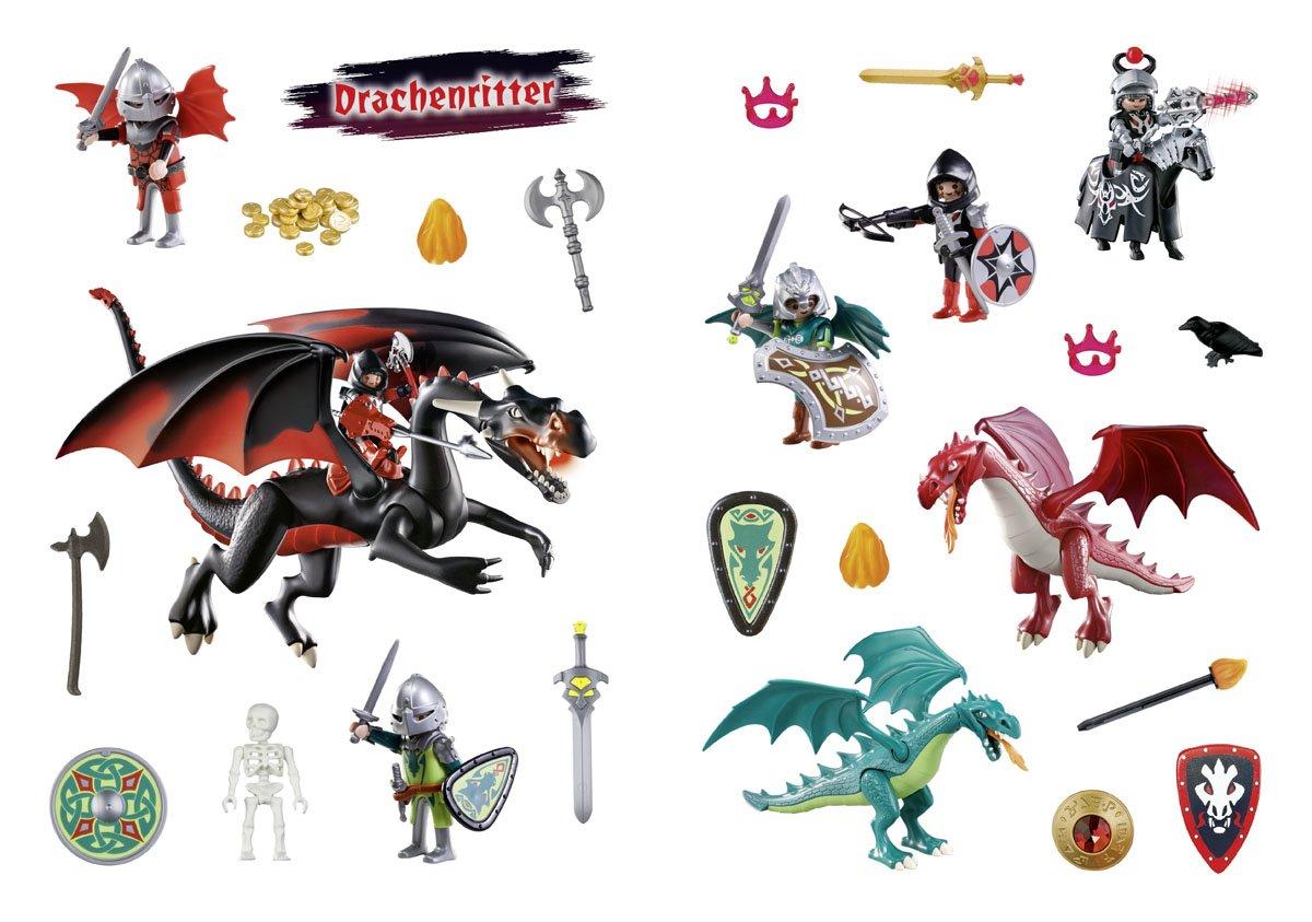 Playmobil Mein Drachenritter Mal Und Rätselbuch Amazon De