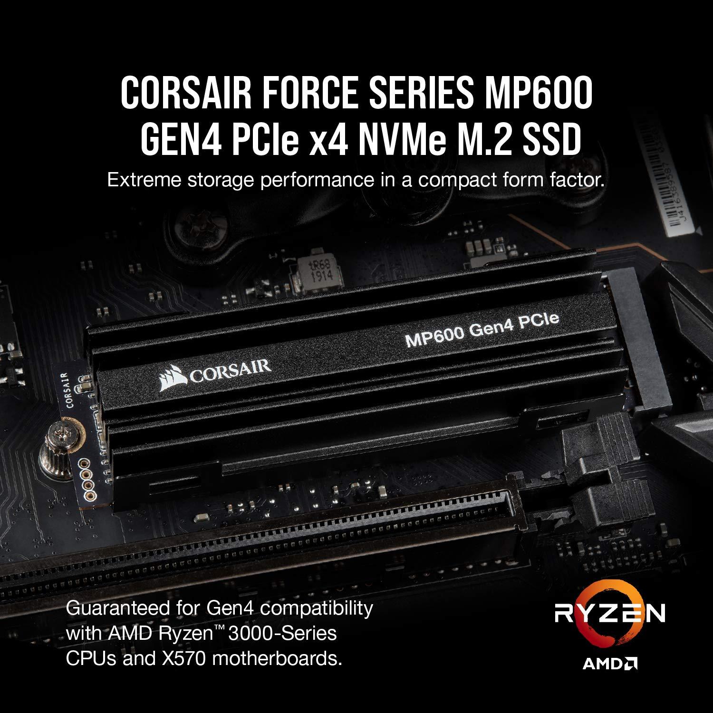 Corsair Force Series MP600 2TB Gen4 PCIe X4 NVMe M.2 SSD