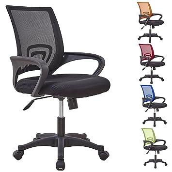 medium office task chair ventilating mesh stylish low back support
