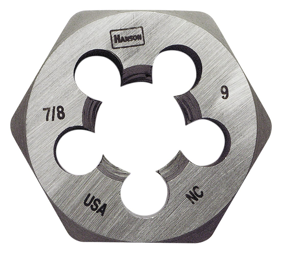 Hanson 8461 Die 7/8-9 1 13/16 NC Sh, for Tap Die Extraction by Lenox Tools