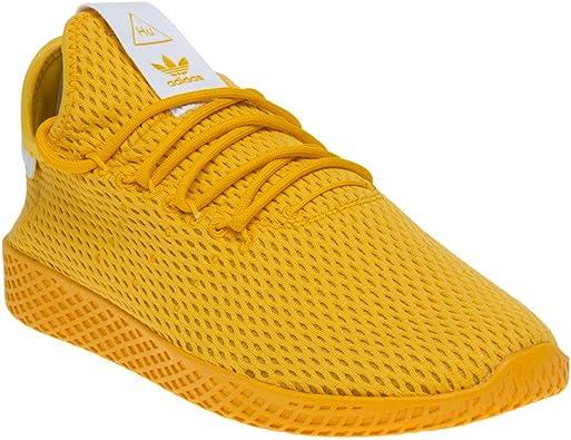 Adidas Pharrell Williams Tennis Hu Hombre Zapatillas Amarillo: Amazon.es: Zapatos y complementos