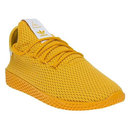 sale retailer f8d67 b612a Adidas Pharrell Williams Tennis Hu Hombre Zapatillas Amarillo  Amazon.es   Zapatos y complementos