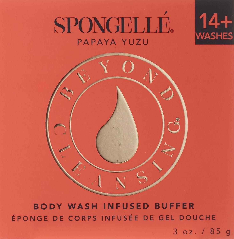 Spongelle Flower Boxed Papaya Yuzu Plus 14 Uses AST-BCDBPY