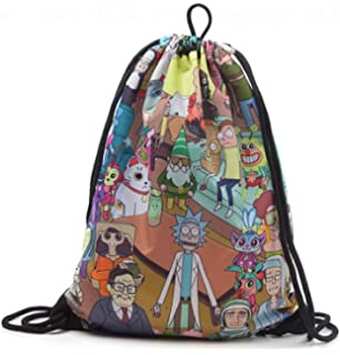 2243053b204e Rick   Morty Gym Bag Characters Sublimation All Over Print Nue Offiziell