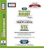 ERRORLESS BIOLOGY NEET & AIIMS (Set of 2 Volumes), NTA 2019