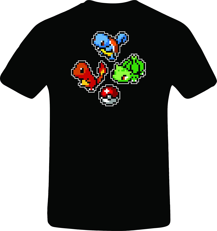 Starter Pokemon, Custom Tshirt
