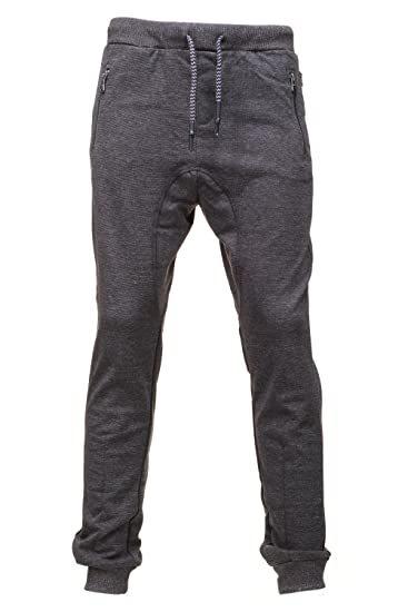 ca25b59c3e5c4 Kaporal 5 - Gib dark grey mel pant jr - Pantalon de survêtement - Gris  anthracite