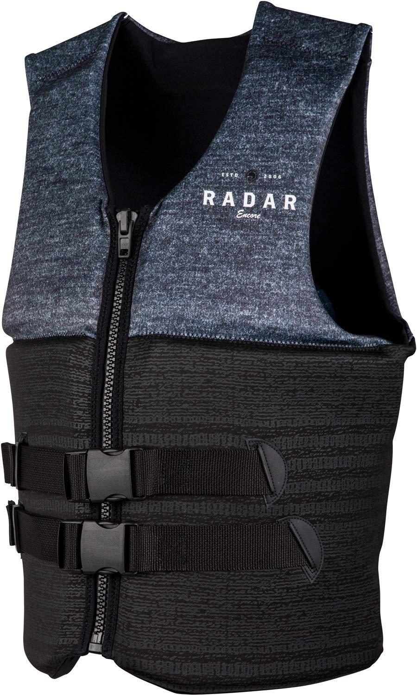 Radar Encore CGA ライフベスト ブラック/ヘザーグレー (2019)  Medium