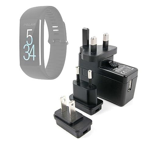 DURAGADGET Kit De Adaptadores con Cargador para Reloj Inteligente Polar A370 | A360: Amazon.es: Electrónica