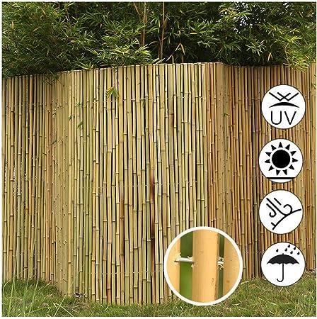 GDMING Rodar Pantalla De Balcón Jardín Protector Bambú 100% De Bloqueo Exterior Parabrisas Decorativo Rústico por Al Aire Libre Jardín Cubierta Terraza, 2 Colores, 12 Tamaños: Amazon.es: Hogar
