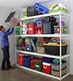 SafeRacks Freestanding Shelf | Steel Shelving Unit | 2'D x 8'W x 7'T