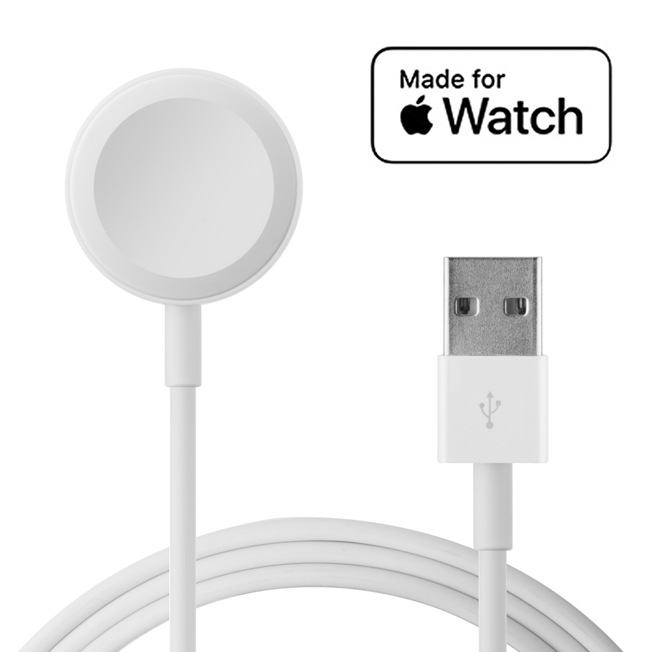 Apple Watch Charger[ Apple MFi Certified ],Ingelon Magnetic Wireless Charging Cable for iWatch 38mm & 42mm, Apple Watch Series 3 2 1(3.3ft/1M)