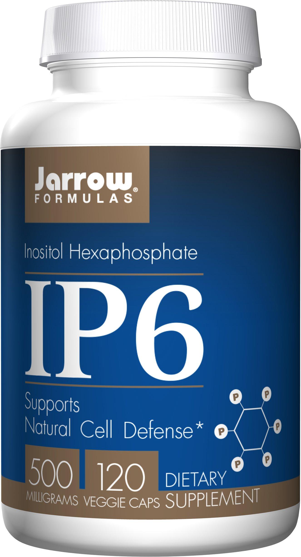 Jarrow Formulas IP6 (Inositol Hexophosphate), 500mg, 120 Capsules (Pack of 2)