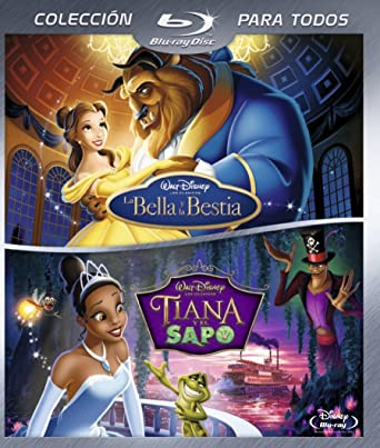 Pack BD - LA Bella y la Bestia + Tiana [Blu-ray]: Amazon.es: Gary Trousdale, Kirk Wise: Cine y Series TV