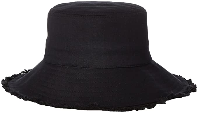 b7d23e5ee66 Physician Endorsed Women s Castaway Canvas Bucket Sun Hat with Fringe