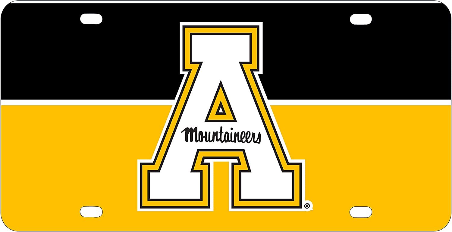 R and R Imports Appalachian State Metal License Plate Car Tag