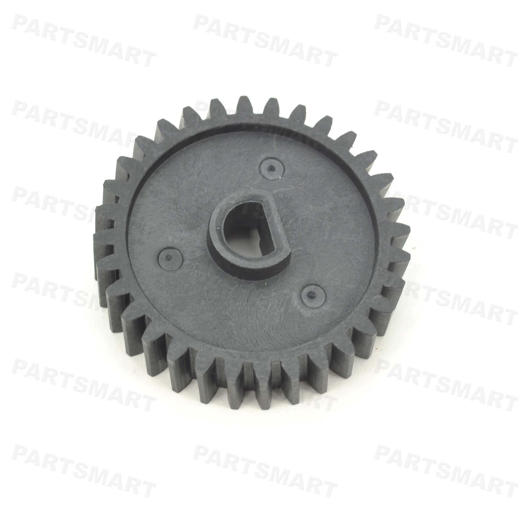RU7-0296-000 Fuser Gear (32T) for HP LaserJet Enterprise 600 M601dn, LaserJet Enterprise 600 M601n
