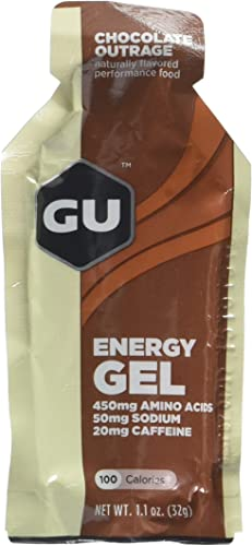 GU Energy Gel – Chocolate Outrage 6 x 1.1oz Packs