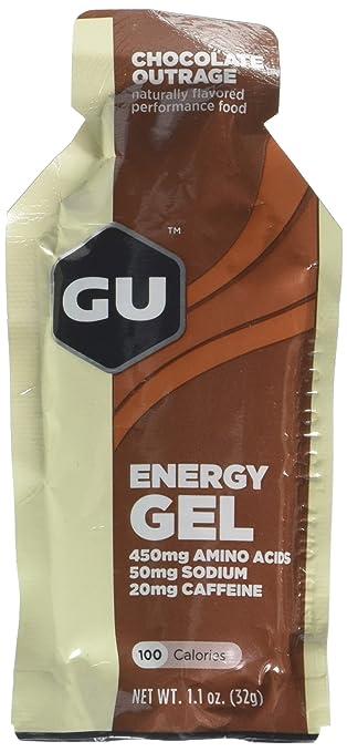 045ca307e3b Amazon.com  GU Energy Gel - Chocolate Outrage (6 x 1.1oz Packs ...